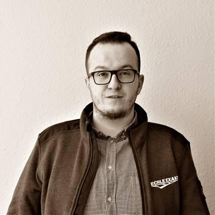 Bauleiter Daniel Raknojik-Skrebo
